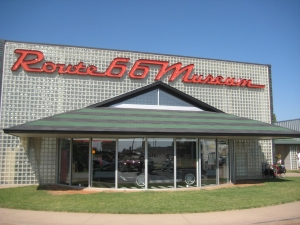 The Route 66 Museum at Clinton OK