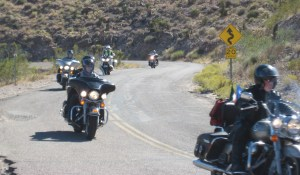Irish 66ers making their way up Sitgreaves Pass
